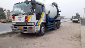 Transit mixer machinery is available for monthly rent
