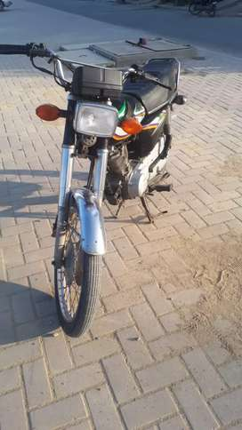 Honda cg 125 black colour