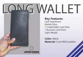 Eid Sale on Leather Long and slim Wallets