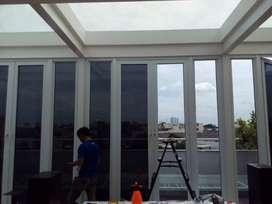 Jasa Kaca Film Rumah Kanopi kacafilm Jendela Pintu kantor Cafe Resto