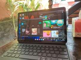 Samsung tab s7 include  pen dan keyboard original mulus 99,9%