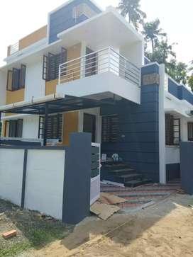 3 bhk 1200 sqft 3.25 cent new build house at varapuzha near kottuvally