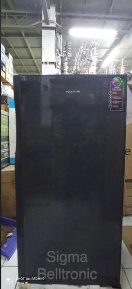 (BARU Ex-display toko) Kulkas 1 pintu POLYTRON PRO-17QB Lemari es