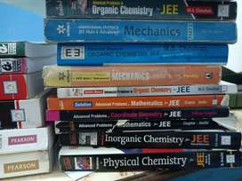 IIT JEE (MAINS AND ADVANCE) BOOKS all subjects