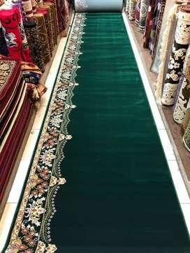 Karpet masjid polos mewah siap kirim dan pasang