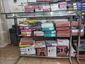 Steel ka shop counter hai..