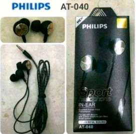 Ready Guys !!! Headset In-Ear Philips AT-40 Bass