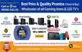 Huge Discount on Gaming Consoles PS4,PS3,PS2,XBOX,Switch,Ps Vr|LED TV