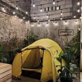 Lampu Outdoor 10meter untuk Dekor atau Interior Cafe