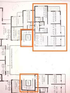 3 BHK Apartment for Rent at Dabholkar Corner Kolhapur