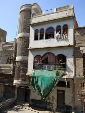 120 sqy house for sale at usmania colony nazimabad no 1