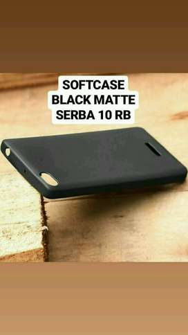 Black Matte Case Aneka Type