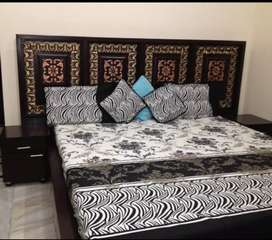 Royal brand new Bed with mattress