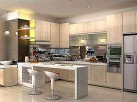 Lemari pakaian & kitchen set murah almahyra alodie