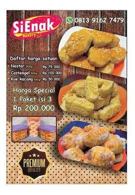 Nastar Kastengel Kue kacang Kue Coklat Premium