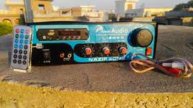 Stereo 1000W Amplifier with Bluetooth