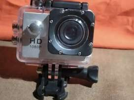 Pro action camera with water proof cover