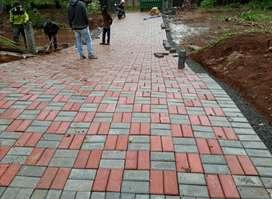 Paving block, Buisbeton, Box Culvert, Kanstin, Pagar Panel, U-Ditch.