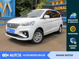 [OLX Autos] Suzuki Ertiga 2019 1.4 GL A/T Putih #Mamin Motor