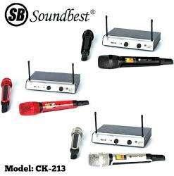 Microphone Soundbest Ck 213 mic wireless soundbest mic sound best