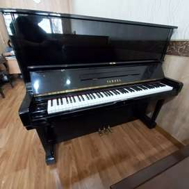 Piano Yamaha U3H Upright Piano Klasik Akustik Bekas Second