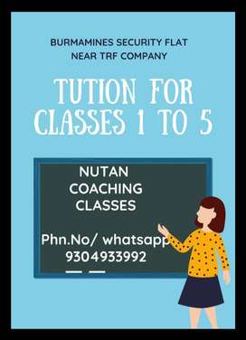 Tution for ( ICSE+CBSE) Class 1 to 5