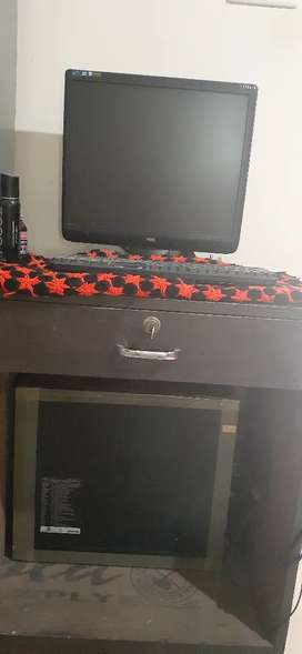 AOC brand pc ( Computer) for sale and hcl brand CPU