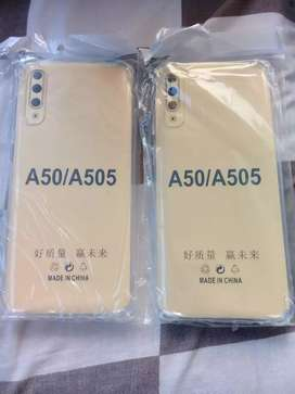 New Samsung A50 Softcase Anti crack Tebal