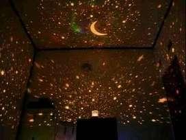 lampu tidur musik star