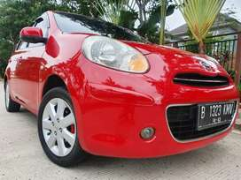 Nissan March XS 1.2 AT Merah Jarang Ada. GARANSI MESIN 1 TAHUN!!!