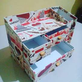 Kotak laci 3 + 1 kotak pencil