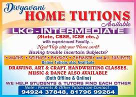 Hometuitions For Lkg - Inter