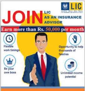 Insurance agent       Full time/part time job