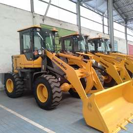 Wheel Loader Plus Turbo Power Super 76kw Murah di Pasuruan Bergaransi