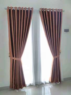 Gordyn rumah kordyn jendela _446  warna motif yg selalu jadi paporit
