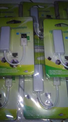 Adapter Converter Port USB Male to LAN Female Best Quality