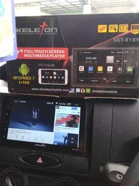 head unit tape mobil android peredam suara paketan audio sound dsp AdA