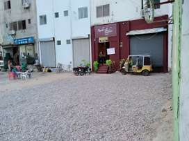 Shop for rent ground with basement child daba near village hotel