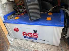 AGS GX-200F 27 Plates Battery in good condition