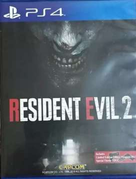 BD PS4 Resident Evil 2 remake reg 3. DLC unused