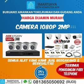 Paket CCTV 4 dan 8 channel Murah Hikvision dan Dahua dan berkualitas