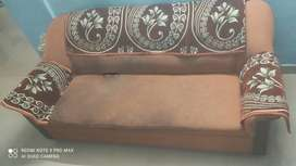 Used 3 Seater Cushion Sofa and 2 Single Sofa Chairs For Sale, Thrissur