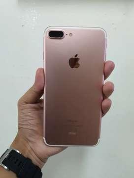 Iphone 7+ 128Gb resmi iBox PA/A RoseGold Full ORI NOMINUS.