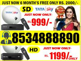 GET FIRE STICK, 6 MONTH PACK OR NEW CONNECTION TATASKY DISH TATA SKY!