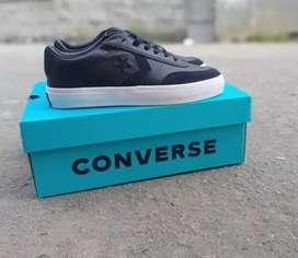 Converse Courtlandt Ox Leather Black