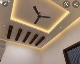 False Ceiling interior works