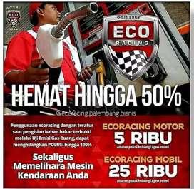 ECO racing hemat hingga 50%
