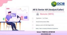 AR & Senior AR (Analyst/Caller)