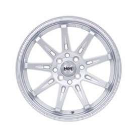 Ready stock HSR Tikala R16x7 H4x100/114 silver
