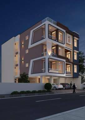 3 BHK Flats Available in Malviya Nagar.